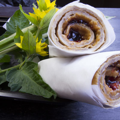 Oat protein crepe style pancakes filled - Toronto Meal Delivery