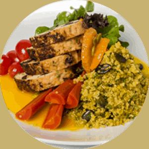 Piano di pasti controllati a porzioni per la consegna a Toronto